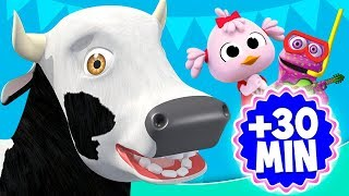 La Vaca Lola de La Granja y más videos infantiles | El Reino Infantil thumbnail
