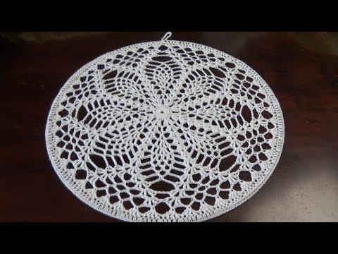 Verwonderlijk Haken - tutorial #446: Tropische Sneeuwvlok Mandala - YouTube CR-07