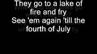Nirvana - Lake of Fire (Lyrics)