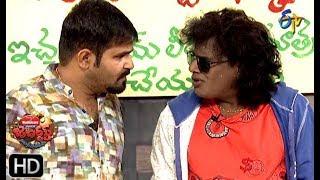 Chalaki Chanti&Sunami Sudhakar Performance | Jabardasth | 2nd May 2019  | ETV Telugu
