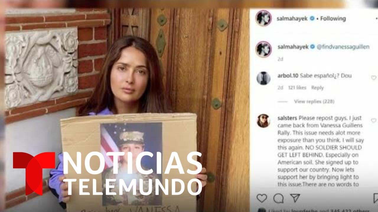 El apoyo para encontrar a la soldado Vanessa Guillén se multiplica en las redes | Noticias Telemundo