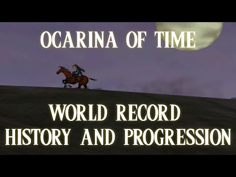 Ocarina of Time - World Record History and Progression (Any% Speedrun)