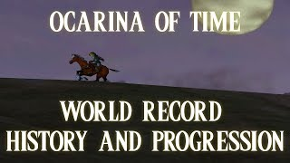 Ocarina of Time - World Record History and Progression (Any% Speedrun, 1990s-2017)