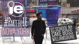 #partiuie Em Nova York - Ec School, Cake Boss E Bar Em Williamsburg