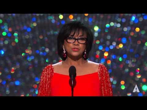 President Cheryl Boone Isaacs at the 2016 Oscars
