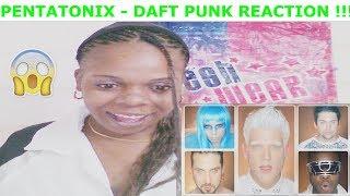 Reacting To |  PENTATONIX - Daft Punk (Requested Video) ! .