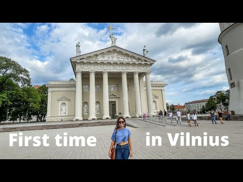 Exploring Vilnius, Lithuania's Capital City!
