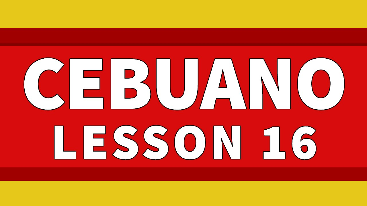 Learn Cebuano 500 Phrases For Beginners Lesson 16 Family And