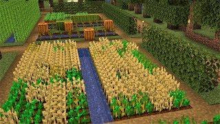Czas na FARMY! - MINECRAFT #13