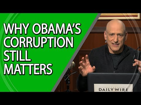 Why Obama's Corruption Still Matters