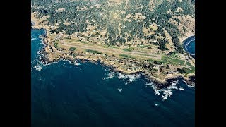 Shelter Cove Airport (0Q5) Landing and Takeoff