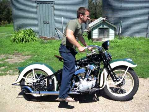 1936 KNucklehead starting for the first time in seventy years