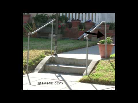 Simple Rail Surface L160 Handrail Installation Doovi