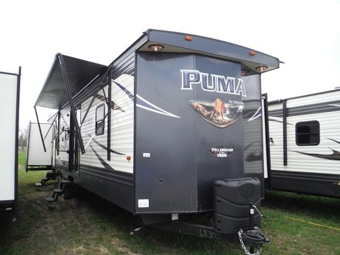 2018 puma 39pqb 2 bedroom 2 bathroom park model trailer camp out rv in stratford youtube Rv with 2 bedrooms 2 bathrooms