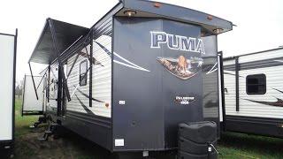 2018 Puma 39PQB 2 bedroom, 2 bathroom Park Model Trailer @ Camp-Out RV in Stratford