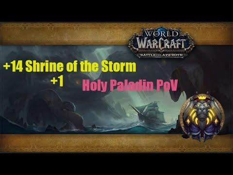 BfA Beta Mythic +14 Shrine of the Storm