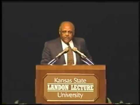 Landon Lecture | William Raspberry