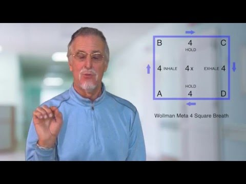 "Glenn Wollman on ""The Meta 4 Square Breath for Stress Relief"""