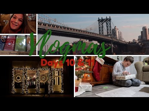 Vlogmas Day 10 & 11   Work, Christmas Gifts, & Serious Talks