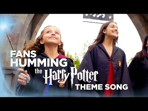 Humming the Harry Potter Theme Song | Universal Orlando Resort