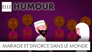 Le tour du monde des mariages et des divorces