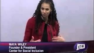 Race and Policy Discussion with Maya Wiley 1