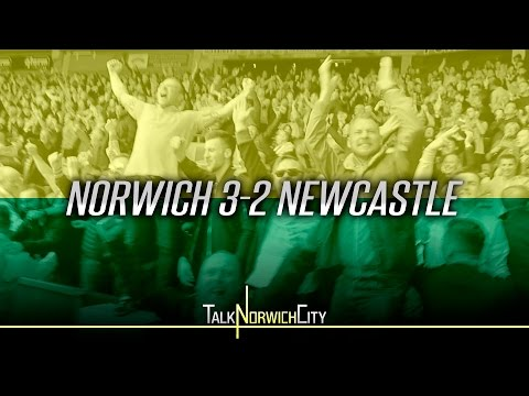 EPIC MATCH DAY EXPERIENCE! Norwich 3-2 Newcastle