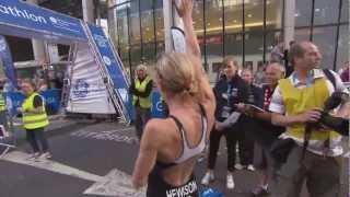 GE Canary Wharf Triathlon 2012 - Women