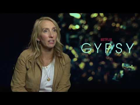 Sam Taylor-Johnson Interview GYPSY - NETFLIX - Backstage Stories - Kissing