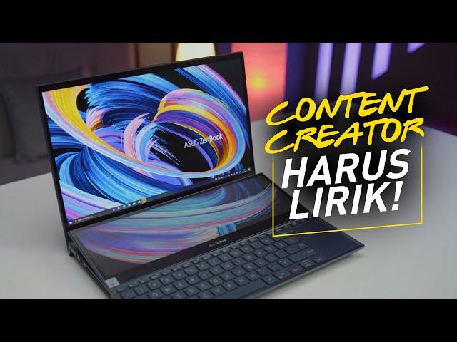 KEREN PARAH !! | Review Asus Zenbook Duo UX582L