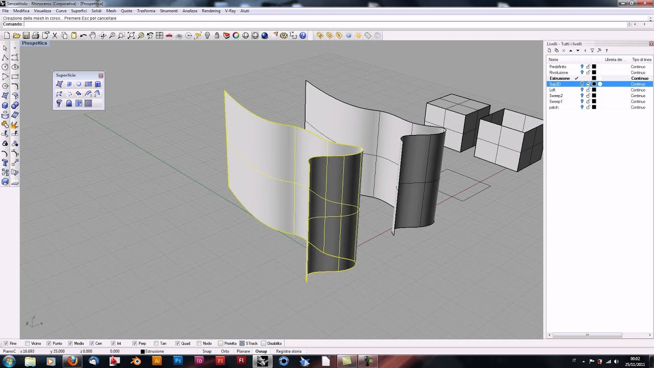 how to make a torus in rhino solid