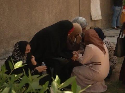 Raw: Babies Killed in Baghdad Hospital Fire