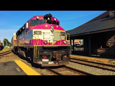Railfanning Commuters at Framingham MBTA Station