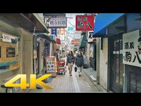 Walking around Nakano station, Tokyo - Long Take【東京・中野駅】 4K