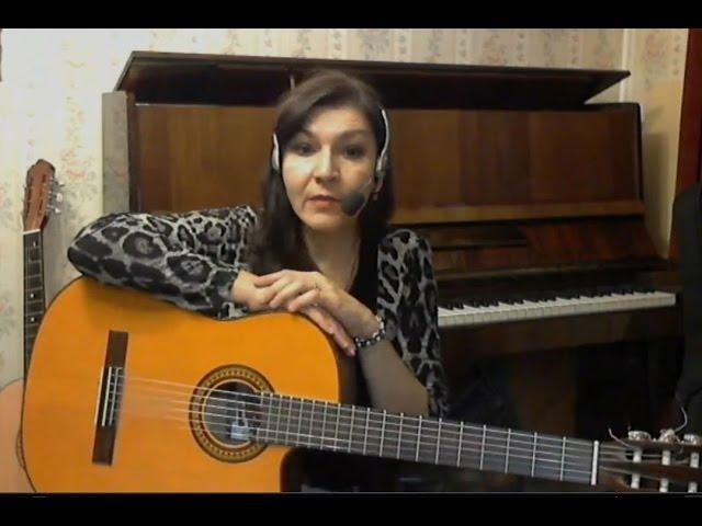 урок. Изгиб гитары жёлтой-разбор Виктория Юдина