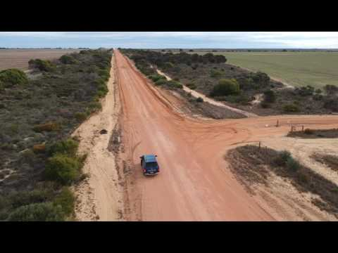 DJI Spark Footage - Principality of Hutt River, A Micro-nation in Western Australia