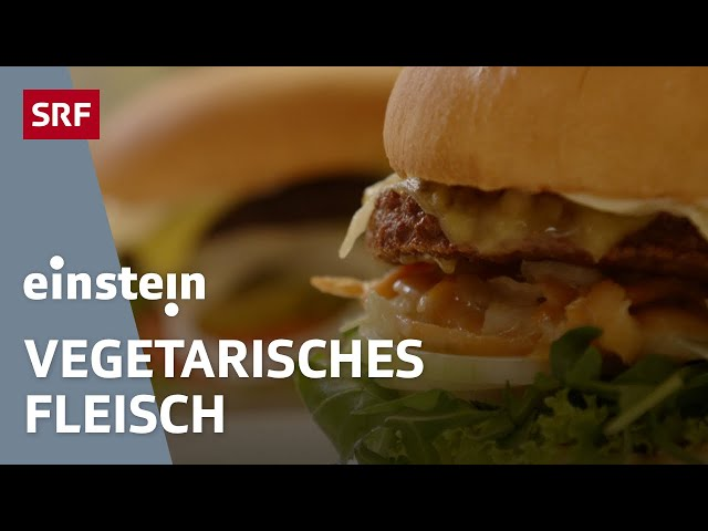 Fleischersatz – was statt toten Tieren bald auf unseren Tellern landen könnte | SRF Einstein