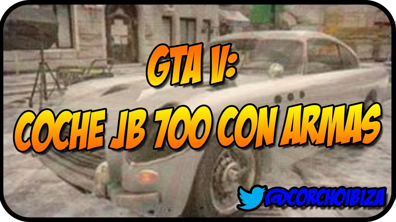 how to get the jb 700 in gta 5