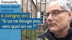 A Joigny, dans l'Yonne: 'Si ça ne bouge pas, vers quoi on va ?'