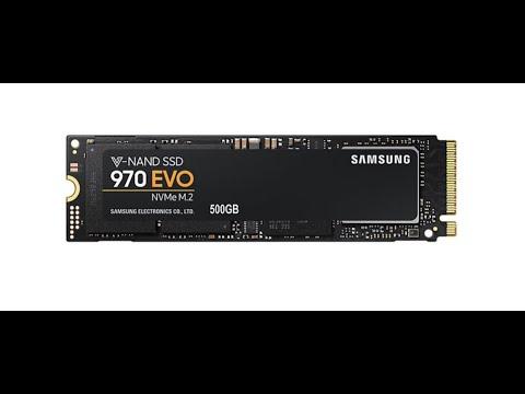 Samsung 970 Evo series 500GB M.2 PCIe 3.0 x4 V-NAND TLC (MZ-V7E500BW)