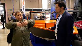 """Презентация лодки Viking на выставке """"Охота и рыболовство на Руси 2019"""""""