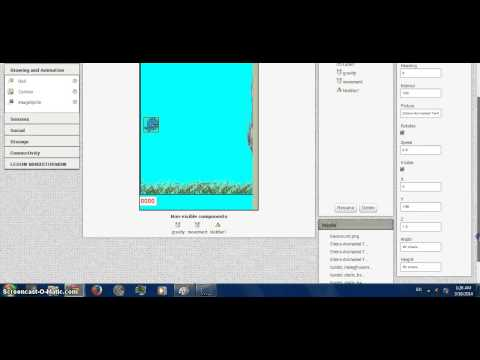 How to make Flappy Bird with app inventor - part 1