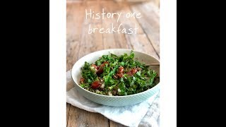History one breakfast #healthy  #breakfast_with_ina #easy #fast #delicious