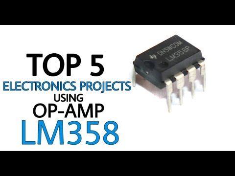 TOP 5 Electronics Projects using LM358 | OP-AMP