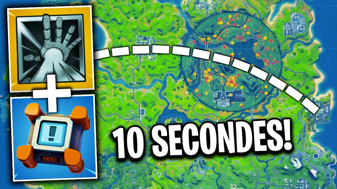 COMMENT TRAVERSER LA MAP EN 10 SECONDES (Saison 4) 🔥 LE MEILLEUR DE FORTNITE #253