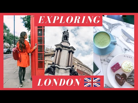 HELLO LONDON // TRAVEL VLOG 2017