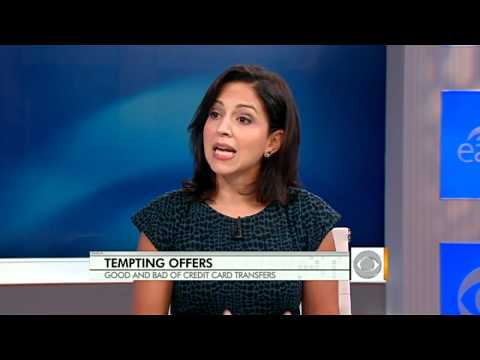 The Early Show - Credit card balance transfers: What you need to know