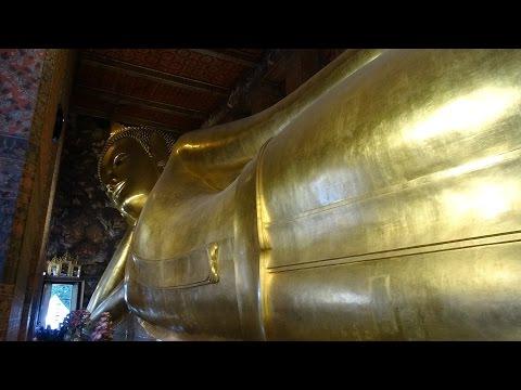 Thailand, Bangkok: A Walk around Wat Pho (Temple of the Reclining Buddha)