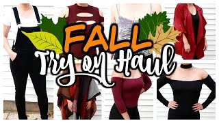 HUGE Fall Try-On Haul 2016 | Lulus, Forever 21, Windsor, Nordstrom, Express, & Missguided