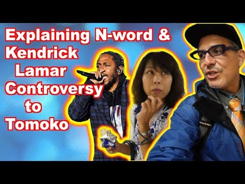 Explaining Kendrick Lamar & N-word Controversy to a Japanese (Laundry Video)